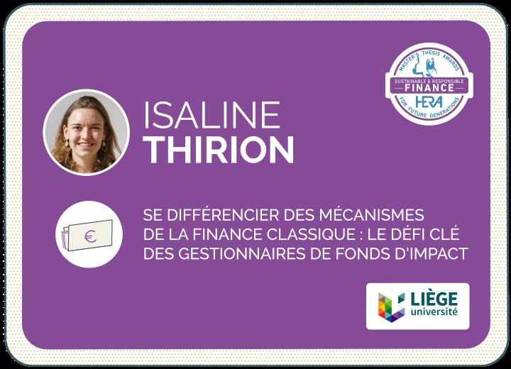 Isaline Thirion