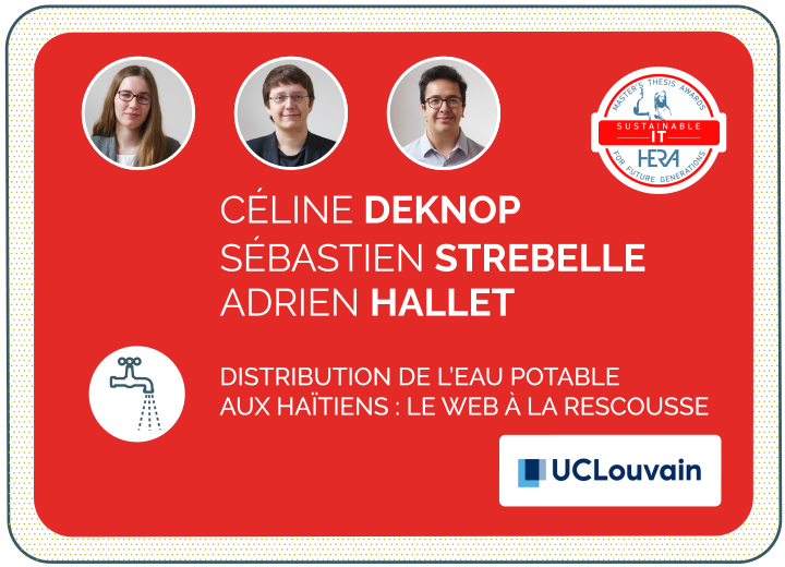 Céline Deknop, Adrien Hallet et Sébastien Strebelle