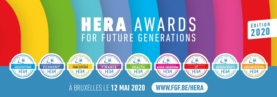 Visuel HERA Awards 2020