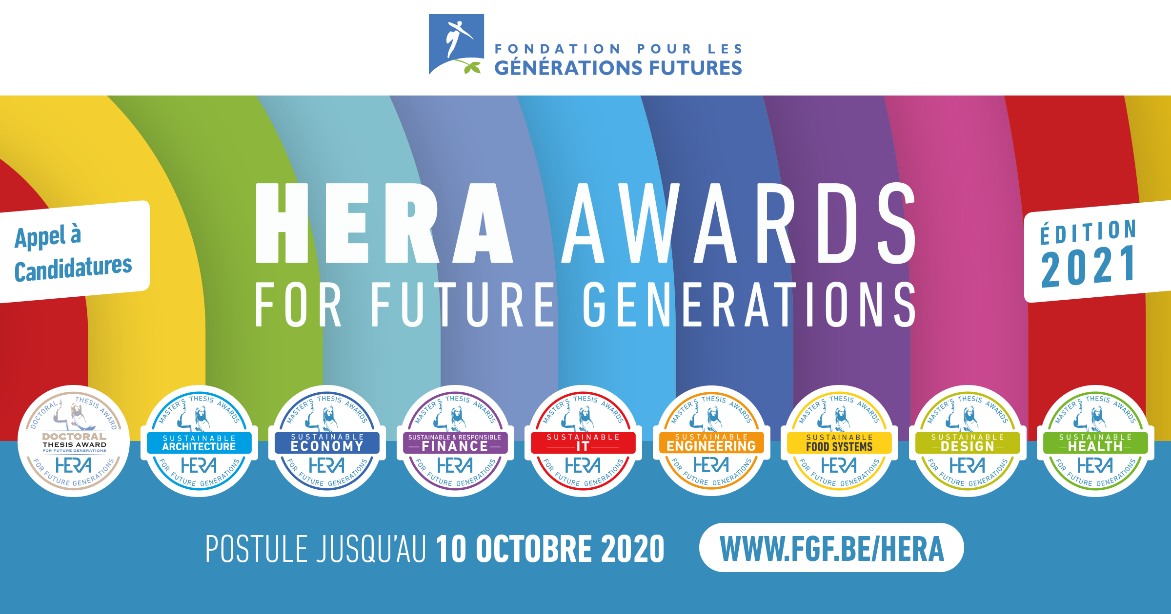 Banner HERA Awards 2021 Appel à candidatures